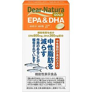 【機能性表示食品】 ディアナチュラゴールド EPA&DHA  360粒(60日分)【正規品】