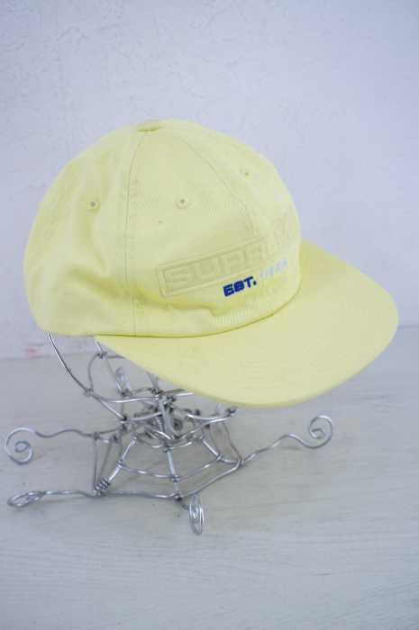 メンズ帽子, キャップ  Supreme 2018 EMBOSSED LOGO 6-PANEL BAZZSTORE251119