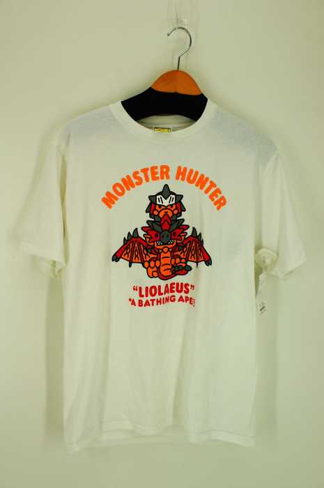 トップス, Tシャツ・カットソー  BAPE T - JPNL A Bathing Ape X Monster Hunter LiolaeusBAZZSTORE030519
