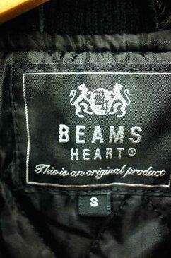 ビームスハート BEAMS HEART ブルゾン・ジャンパー メンズ - 黒系 × 白系 JPN:S レザー切替ブルゾン【中古】【ブランド古着バズストア】【251118】