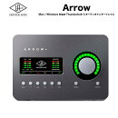 ARROW(アロー)|UniversalAudio|APOLLOシリーズ直系オーディオインターフェイスサンダーボルト3接続MacでもWindowsでも動作送料無料
