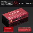 VITAL AUDIO(ヴァイタルオーディオ)Power Carrier パワーキャリア VA-08 Mk-2 エフェクター用パワーサプライ送料無料