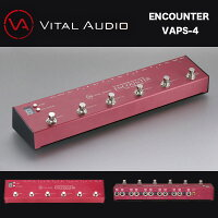 VITALAUDIO(ヴァイタルオーディオ)ENCOUNTERエンカウンターVAPS-4パワーサプライを内蔵した4ループタイプのプログラマブルループスイッチャー送料無料