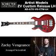 シェクター SCHECTER / ZV CUSTOM REISSUE LH | AD-A7X-VG-CTM-LH | Zacky Vengeance (Avanged Sevenfold) リイシュー 送料無料