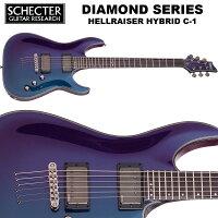 シェクターSCHECTER/HELLRAISERHYBRIDC-1ブルー(青)ヘルレイザーハイブリッドダイヤモンドシリーズエレキギター送料無料
