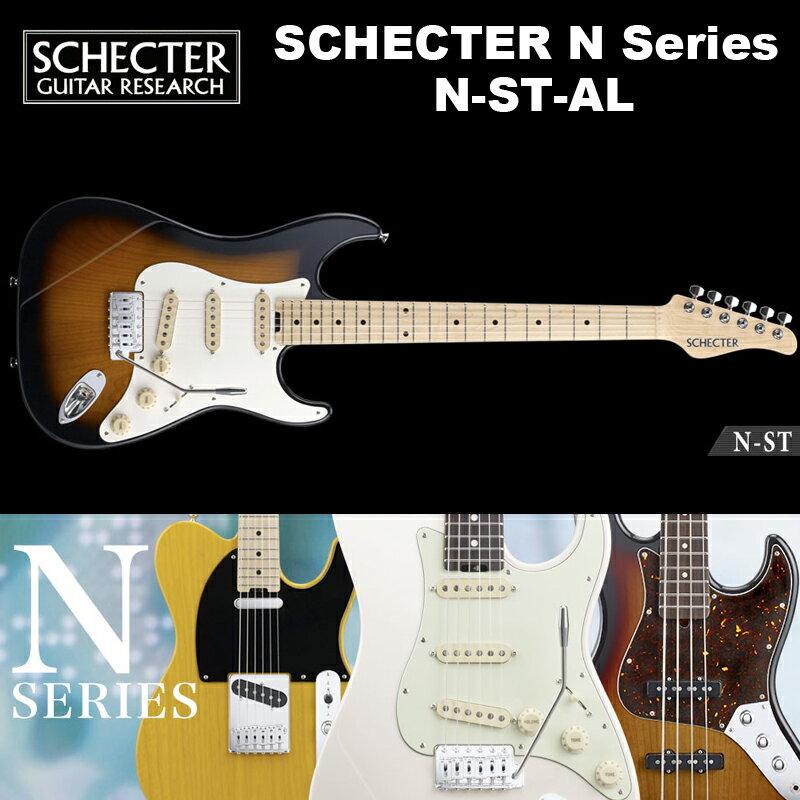 ギター, エレキギター  SCHECTER JAPAN N-ST-AL N