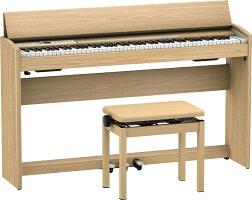ローランドF701LAS/roland電子ピアノデジタルピアノF-701ライトオーク(LightOak)ヘッドホン・専用高低自在椅子付配送設置無料