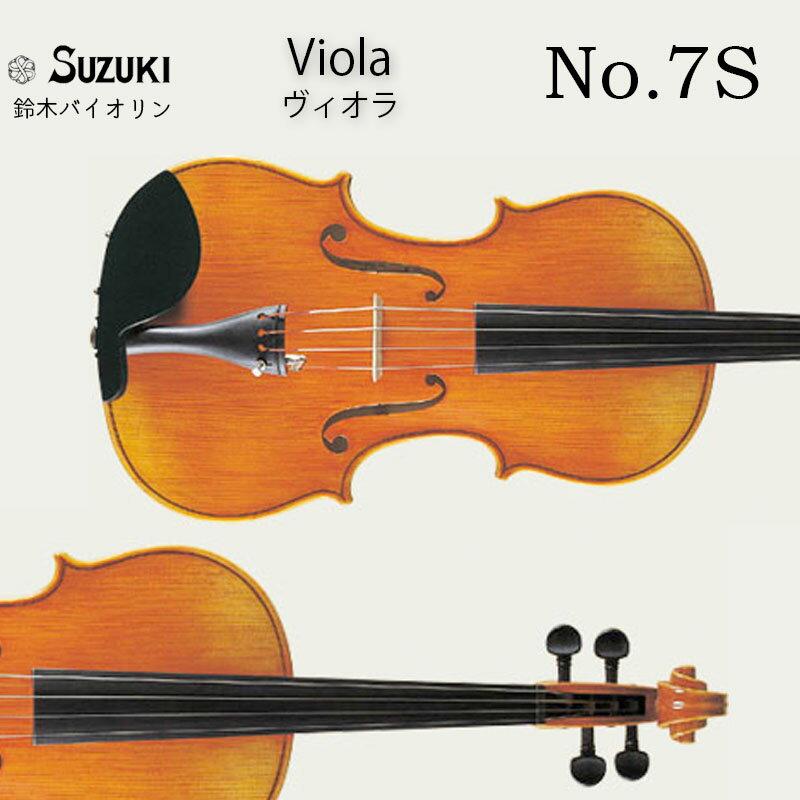 弦楽器, ビオラ  No.7S 15.5 SUZUKI Viola Outfit