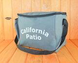 【送料無料】CaliforniaPatioオリジナル カセットガスヒーターショルダーバッグ※カセットガスボンベ3本収納ポケット付