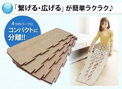 除湿シート除湿マットすのこマットベルオアシスシングルすのこテイジンすのこベッド湿気折りたたみベッド折り畳みベッド折畳ベッド折り畳み折畳帝人ダブルインパクト【D】[500][P10]