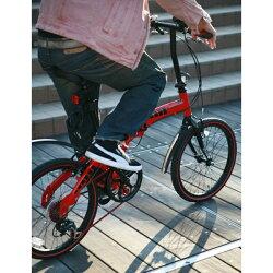 WACHSEN(ヴァクセン)20インチアルミ折りたたみ自転車7段変速付SCHNELL(シュネル)BA-10R【HW】【TD】【代引不可】【取寄せ品】送料無料