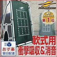 【あす楽対応】送料無料壁が無いならつくっちゃおう♪投球・守備練習用壁ネットbyフィールドフォースFKB-1384G
