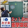 一律5%引クーポン テニス練習用「壁」ネット(硬式テニス・軟式テニス兼用) 省スペースで全力サーブOK! 2.0m×1.6m フィールドフォー ス 送料無料 テニス練習用品 打込み練習 ラッピング不可 あす楽