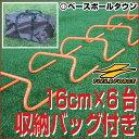 野球 練習 ミニハードル Sサイズ 16cm×6台組 専用バ...