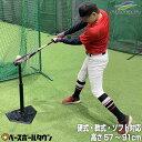 最大10%引クーポン 野球 練習 バッティングティースタンド 硬式 軟式M号・J号 ソフトボール対応 高さ約57〜91cm 打撃 トレーニング FBT-321 フィールドフォース