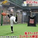 野球 練習 ターゲットコントロール 軟式用 投球練習 ピッチ...