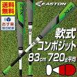 59%OFF 最大6%引クーポン バット 一般 XL2 イーストン 軟式野球 83cm 720g コンポジット トップミドルバランス グレイ×ホワイト(GY/WH) NA16X2-GYWH-83 あす楽