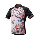 パールイズミ半袖プリントジャージ7)桜と翡翠前