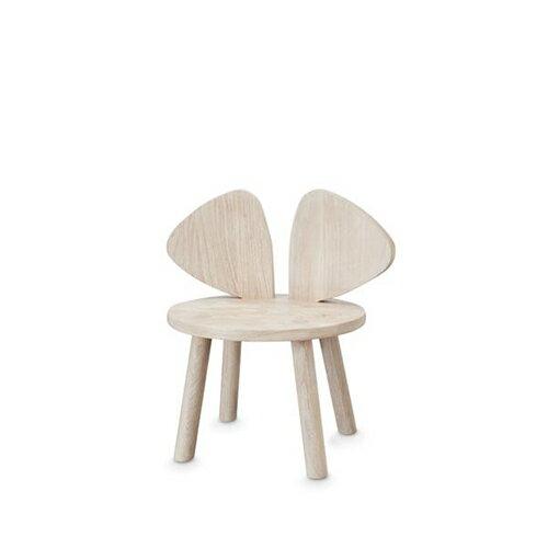 【ポイント10倍】【送料無料】ベビーチェア 木製 キッズチェア 子ども椅子 Nofred ノーフレッド Mouse Chair 北欧 (オーク)