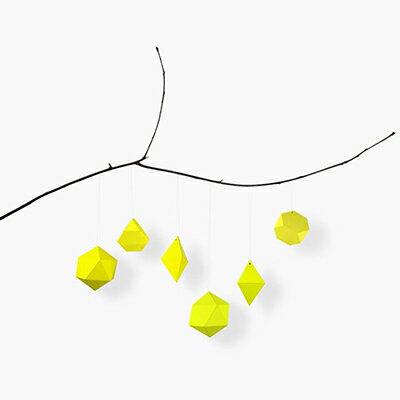 インテリア小物・置物, その他 kolor PAPER JEWELRY (neon yellow)