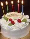全国に宅配!老舗ケーキに濃厚な生クリームの定番デコレーションケーキ!誕生日ケーキ バースデ...
