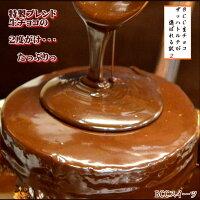 素材にこだわるチョコレートクリスマスケーキ