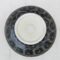 〔INK-0401013H〕オンカウンタータイプラウンド陶器製洗面ボウル【本体サイズ:W415*D405*H270】