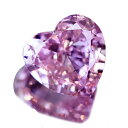 ピンクダイヤモンド ルース 0.187ct FANCY INTENSE PURPLISH PINK SI1〔AGT〕