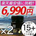 【限定8%OFF★】マヌカハニー UMF15+ 2個セット ...