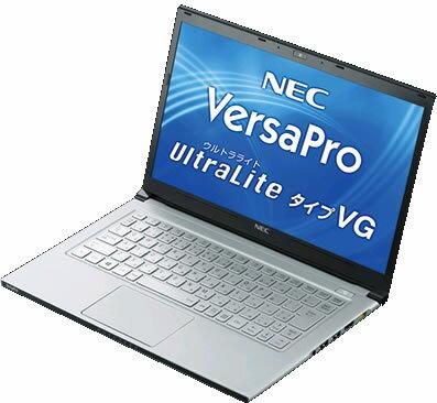 中古ノートパソコンNEC VersaPro UltraLite タイプVG VK20S/G-G…