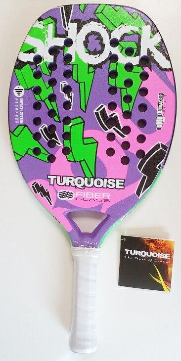 ビーチテニスラケット TURQUOISE / WAVE Shook