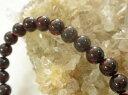 ガーネット通販専門店ランキング8位 【お薦め】●ガーネットのブレスレット 7mm珠で『実りの象徴』とされる1月の誕生石石言葉は「真実・友...