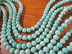 綠松石非洲綠色 turkoise (沒有綠松石條紋) 圓珍珠 4mm 綠松石耳環,項鍊設計綠松石和其他天然石珠綠松石和時尚中綠松石綠松石綠松石的代碼