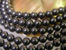 相關的禮品小哥婚禮白殼部分 (貝殼珠) 圓珍珠黑 8 毫米珍珠殼部分珍珠珍珠項鍊珍珠耳環珍珠白殼珊瑚珠子串珠配件使時尚的裝扮