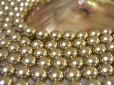 相關的禮品小哥婚禮白金殼部分 (貝殼珠) 圓珍珠金 8 毫米珍珠殼部分珍珠珍珠項鍊珍珠耳環珍珠白殼珊瑚珠子串珠配件使時尚的裝扮