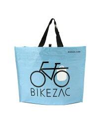 [Rakuten Fashion]BIKEZAC / WOVEN PP エコ トート バッグ BEAMS ビームス 自転車 買い物 マルシェバッグ エコバッグ サイドバッグ サイドバスケット 後付け かご BEAMS MEN ビームス メン バッグ トートバッグ ブル