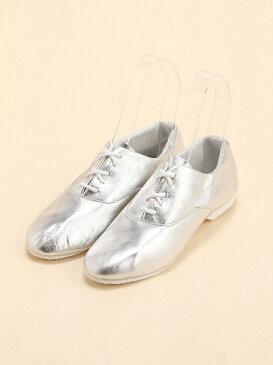 [Rakuten BRAND AVENUE]CROWN / Jazz 5eye シューズ beams raybeams ビームス レイビームス 靴 ドレスシューズ フラットシューズ 革 シルバー きれいめ イギリ【送料無料】