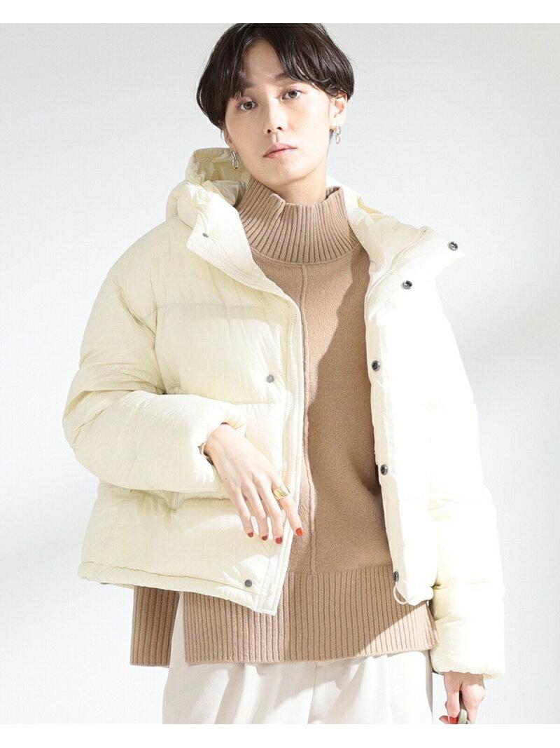[Rakuten Fashion]GYMPHLEX / ホワイトグース ダウンジャケット Ray BEAMS ビームス ウイメン コート/ジャケット ダウンジャケット ベージュ【送料無料】