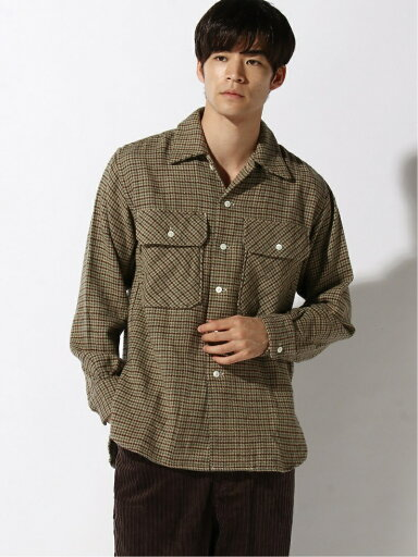 Camp Shirt 11-11-5887-086: Khaki