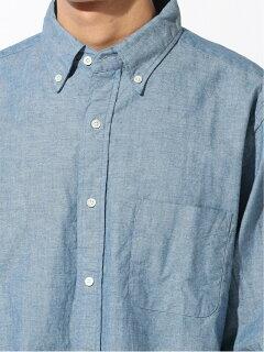 Chambray Buttondown Shirt 11-11-5721-139: Chambray