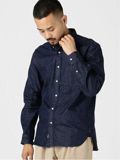 Denim Buttondown Shirt 11-11-5722-139: Indigo