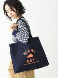 [Rakuten BRAND AVENUE]BEAMS BOY / BB ロゴ TOTE BAG ビームスボーイ トートバッグ トート サブバッグ エコバッグ A4 BEAMS BOY ビームス ウイメン バッグ