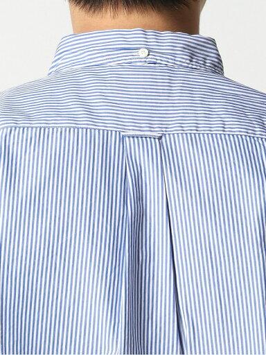 Stripe Buttondown Shirt 11-11-3212-139: Blue
