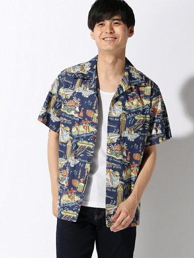 Aloha Shirt 11-01-0954-304: Navy