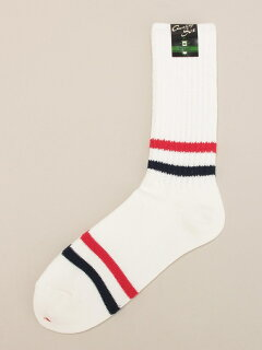 Stripe Socks 11-43-0294-479: Navy / Red