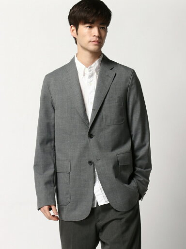 Combat Wool Sack Sport Coat 11-16-1293-803: Grey