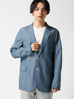 Chambray Sack Sport Coat 11-16-1323-139