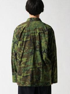 Military Utility Jacket 11-18-4450-139: Camouflage
