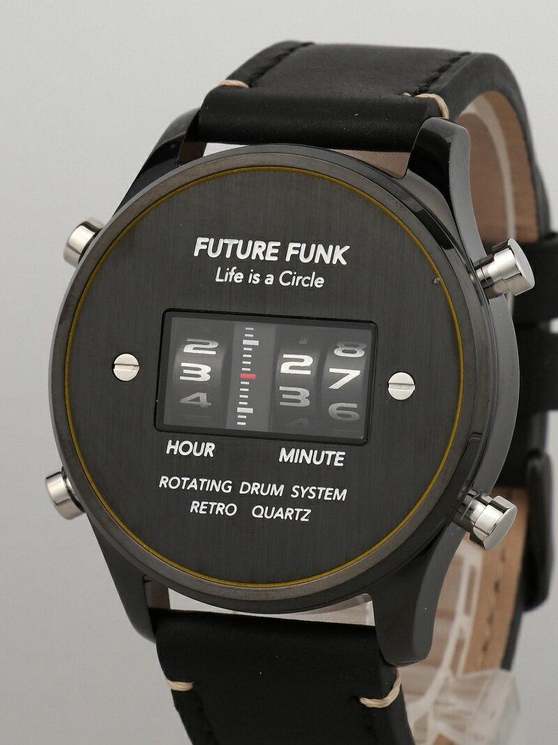 [Rakuten BRAND AVENUE]FUTURE FUNK / FF102 ANA-DEGI ウォッチ(ブラック) BEAMS MEN ビームス メン ファッショングッズ