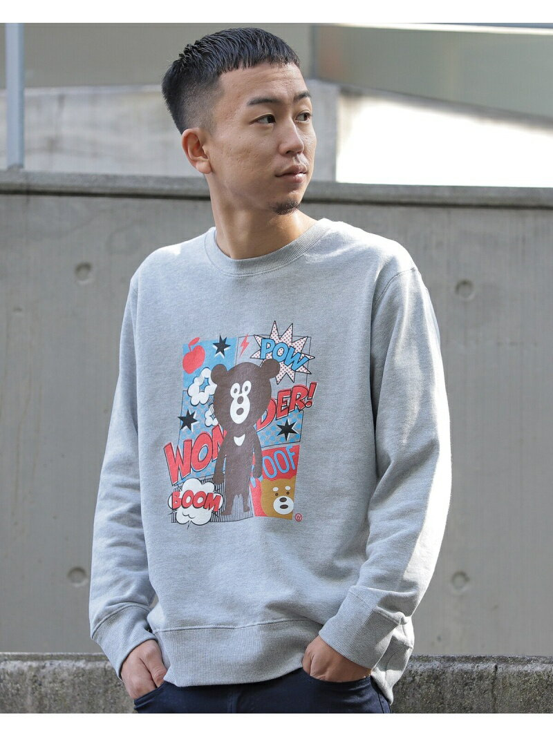 トップス, スウェット・トレーナー Rakuten FashionSALE50OFFThe Wonderful! design works. COMIC BEAR BEAMS T T RBAE